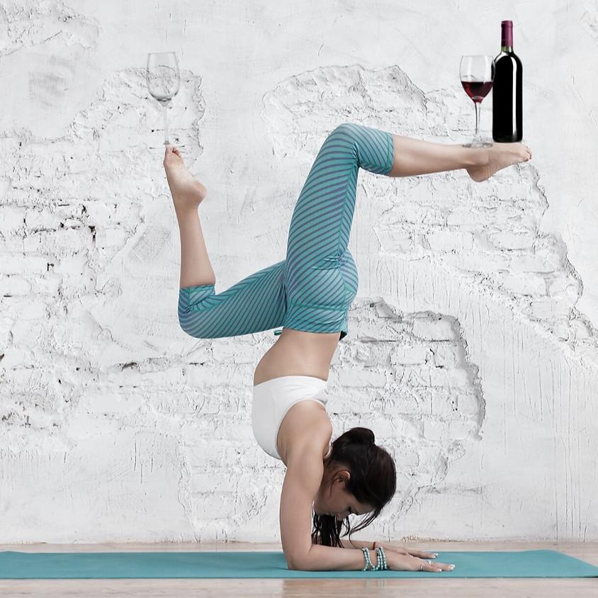 Ladies Night Vino and Vinyasa Yoga