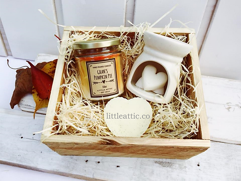 Scented Soy Candle Gift Set