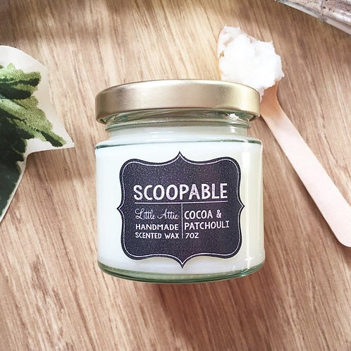 Scoop-able Wax Melts