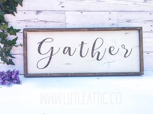 FarmHouse Style Wooden Sign