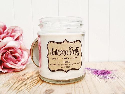 Unicorn Fart Candle