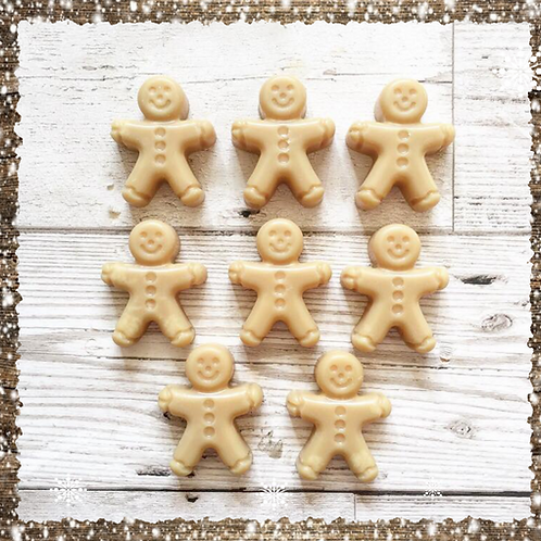 Gingerbread Men Scented Soy Wax Melts