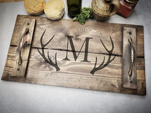 Personalised Wooden Serving Tray
