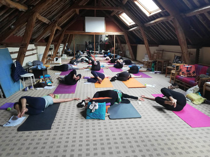 Stage de yoga à la Grange à Champagne-sur-Oise