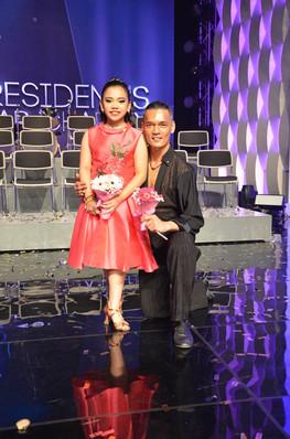 With our talented dancer - Jadyn Chua
