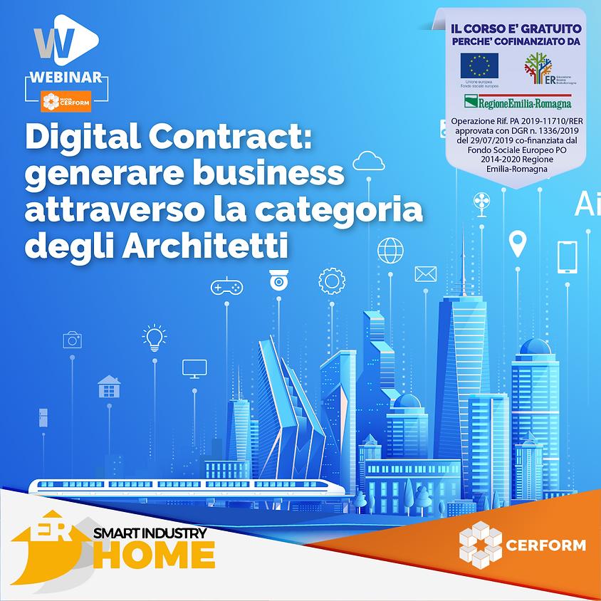 DIGITAL CONTRACT: generare business attraverso la categoria degli Architetti