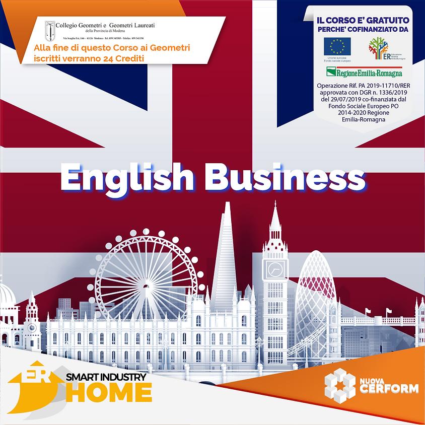BUSINESS ENGLISH PER L'INTERNAZIONALIZZAZIONE
