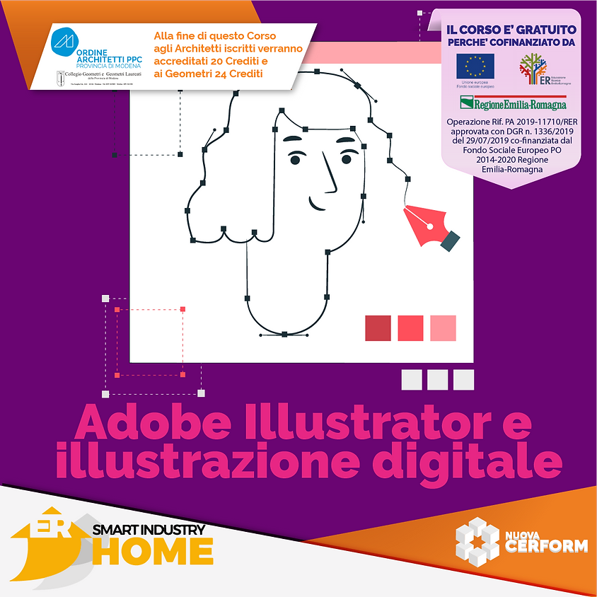 ADOBE ILLUSTRATOR E ILLUSTRAZIONE DIGITALE