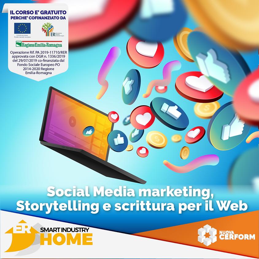 SOCIAL MEDIA MARKETING, STORYTELLING E SCRITTURA PER IL WEB