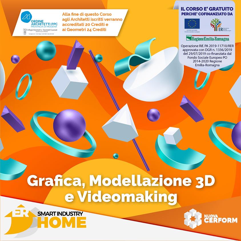 GRAFICA, MODELLAZIONE 3D, VR E AR