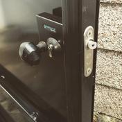 Steel Door Lock Replacement