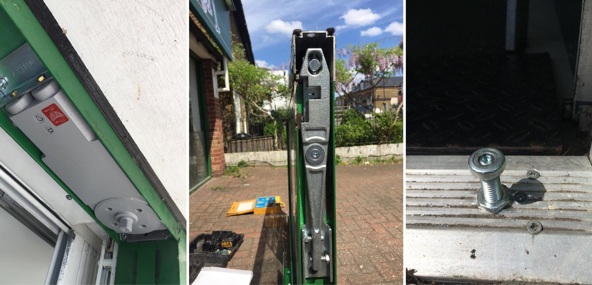 Commercial Door Repaired Surrey