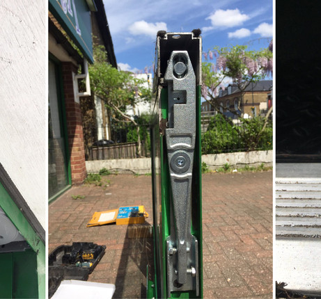 Commercial Door Repaired Surrey