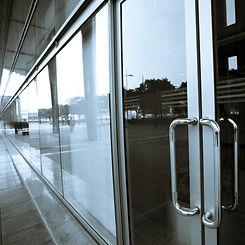 Commercial-storefront-Sliding-Glass-Door