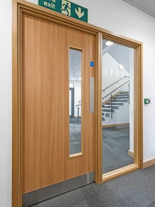 Commercial Fire Door London