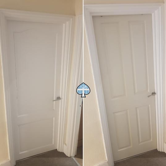 Door Installed SW16