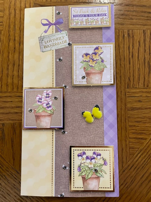 Mothers Day Card - Sit Back & Relax Today's Your Day