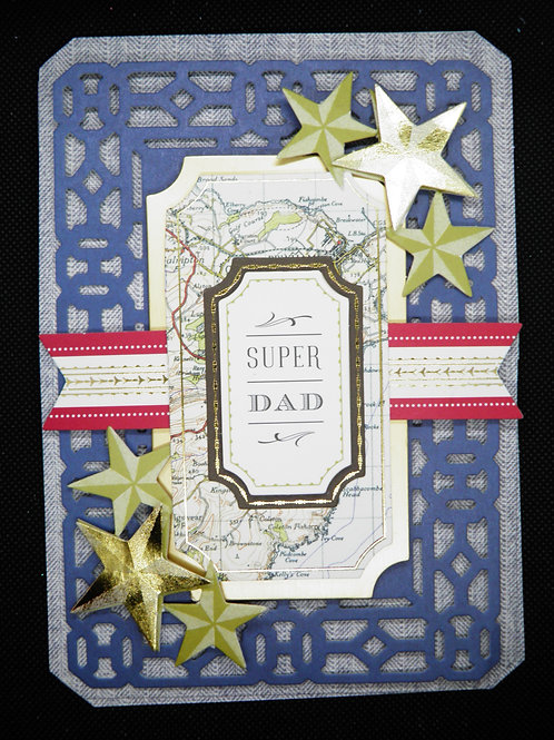 Fathers Day Card - Super Dad