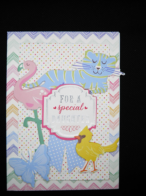 Kids Card - For a Special Daughter