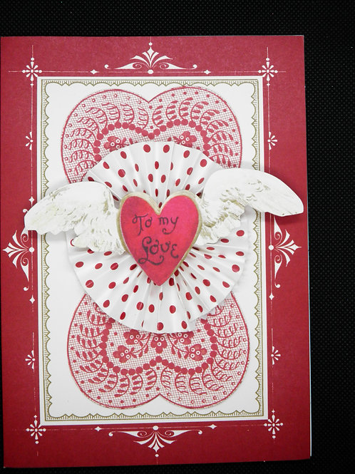 Valentines Card - To My Love