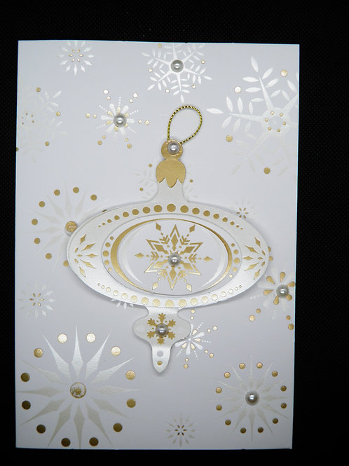 Christmas - Gold Ornament