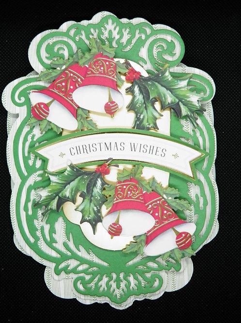 Christmas - Easel Card - Christmas Wishes