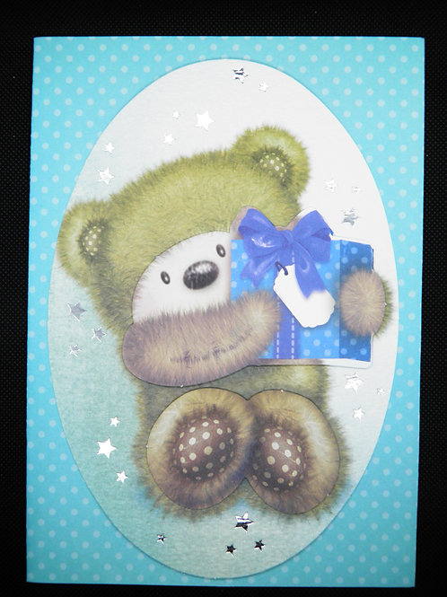 Kids Card - Panda - Special Wishes On Your Birthday