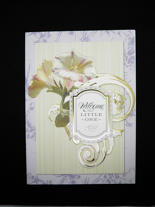 Newborn Card - Welcome Little One