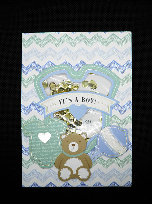 Newborn Card - It's a Boy
