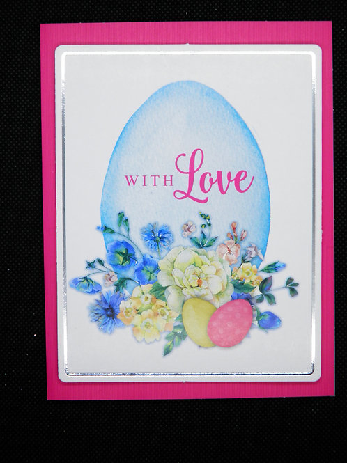 Easter Card - With Love