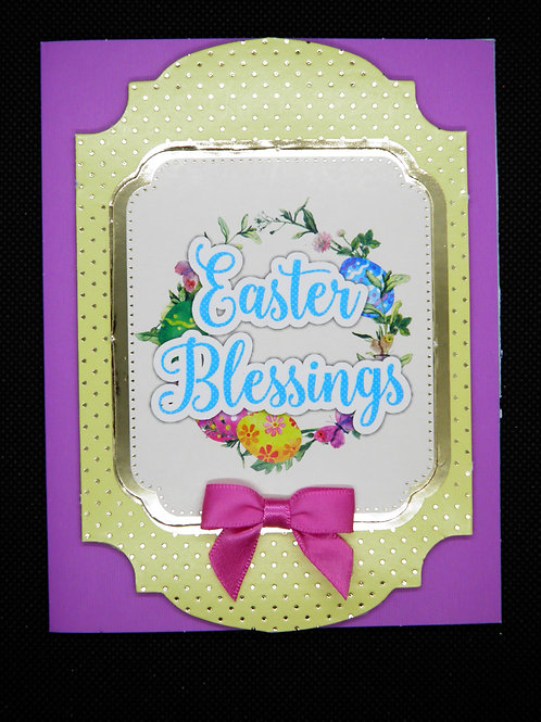 Easter Card - Easter Blessings