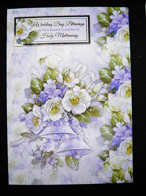 Wedding Card - Wedding Day Blessings