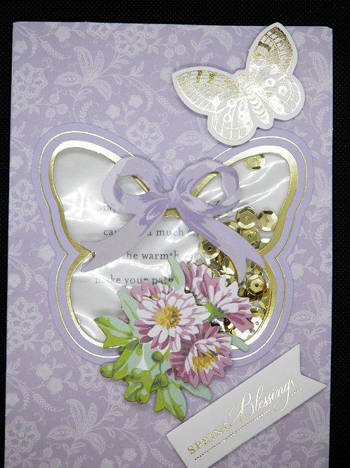 Easter Card - Spring Blessings