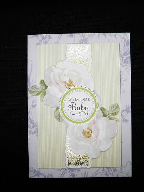 Newborn Card - Welcome Baby