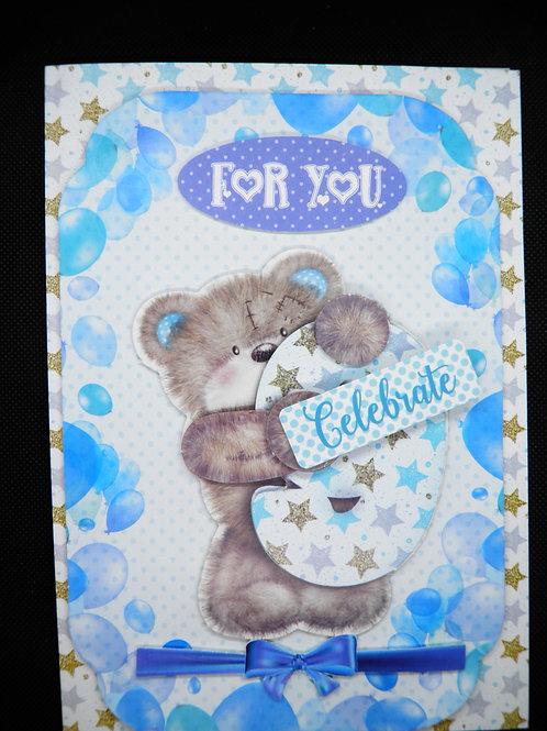 Birthday Card - Boy Age 9