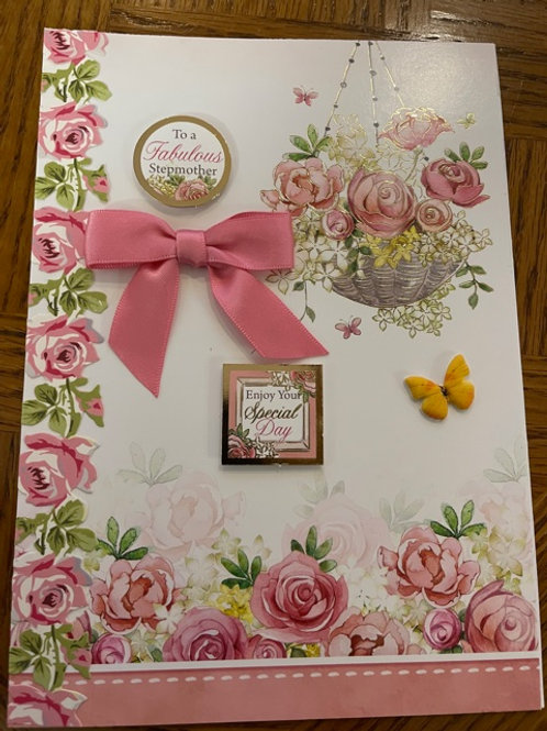 Mothers Day Card - Stepmother