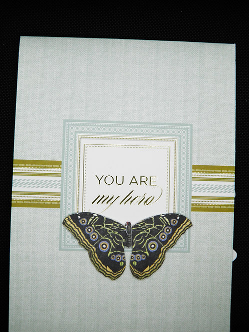 Graduation - Pop Up Card - You Are My Hero