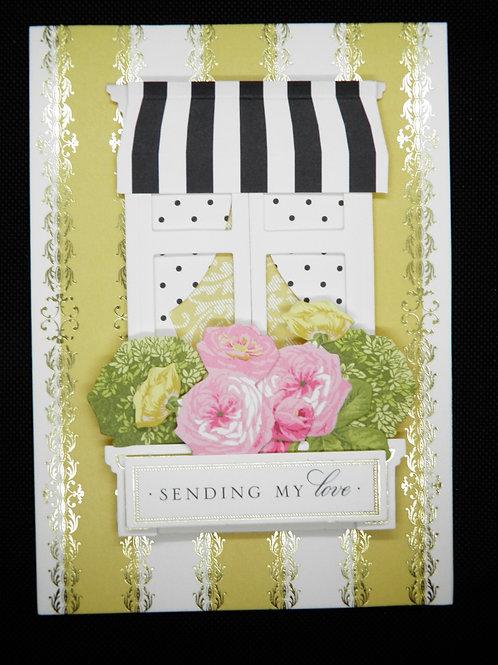 Friendship card - Sending My Love