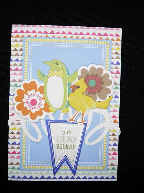 Kids Card - Hip Hip Hooray