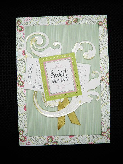 Newborn Card - Sweet Baby