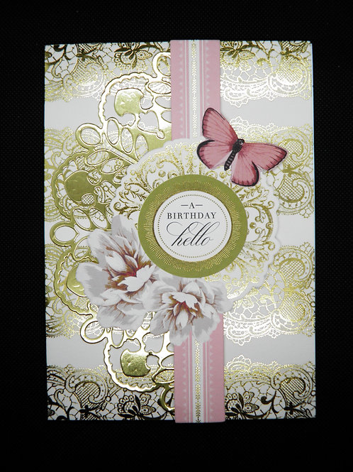 Birthday Card - A Birthday Hello