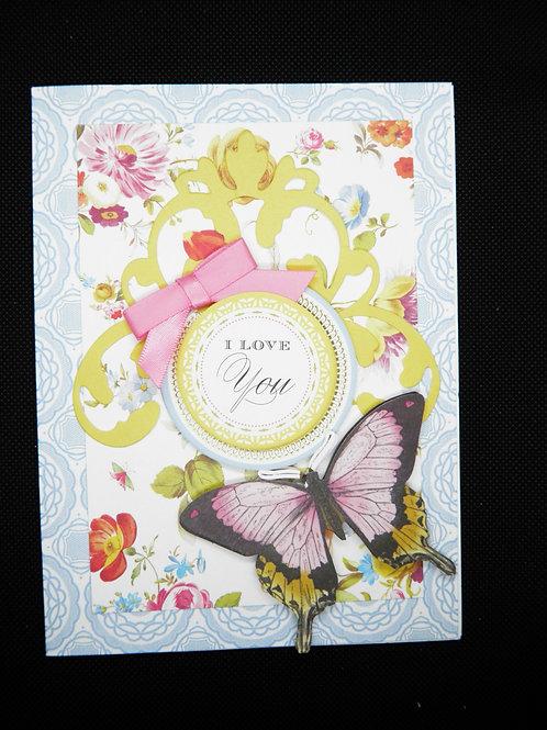 Anniversary Card - I Love You