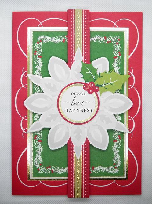 Christmas - Peace, Love , Happiness