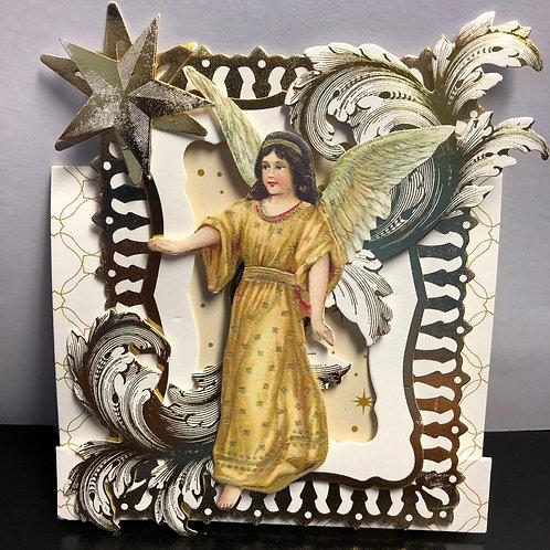 Angel Christmas Card (sending you peace & love)