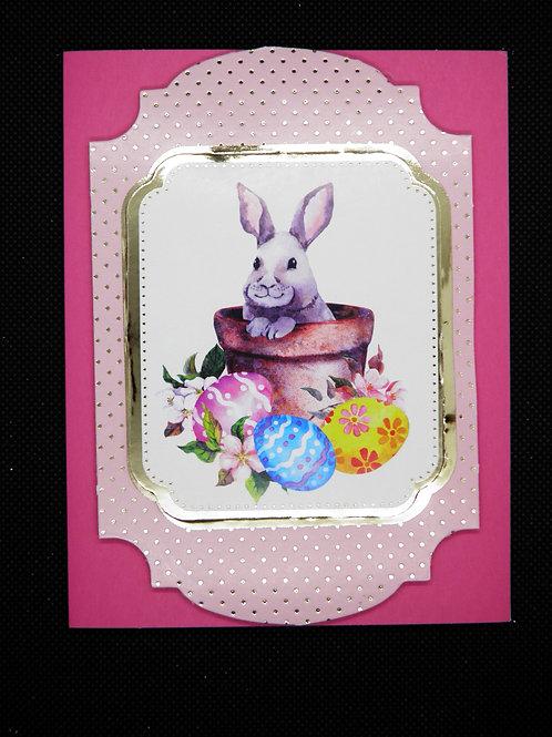 Easter Card - Rabbit
