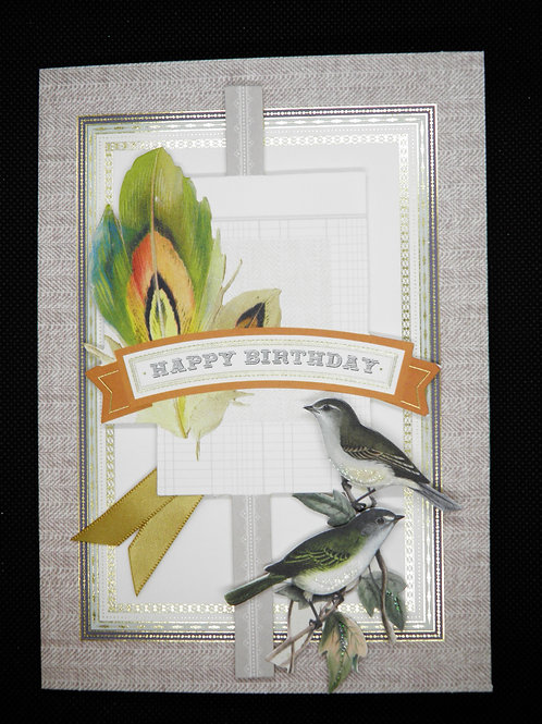 Men's Birthday Card - Happy Birthday