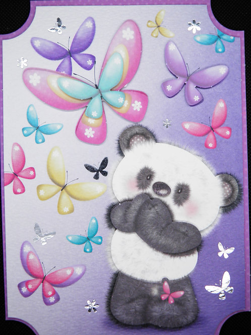 Birthday Card - Panda