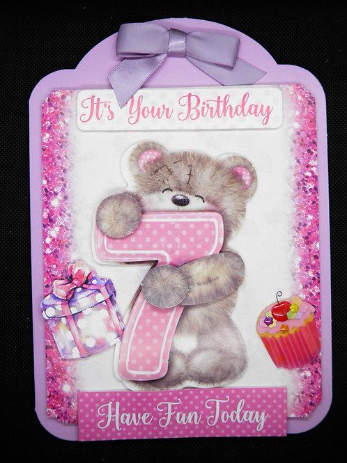 Kids Birthday Card - Its Your Birthday