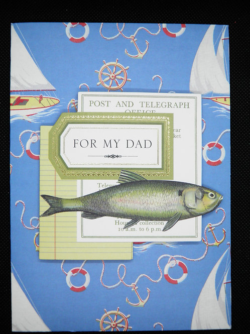 Fathers Day Card - For My Dad
