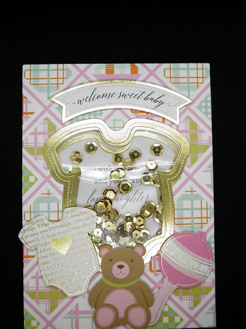 Newborn Card - Welcome Sweet Baby